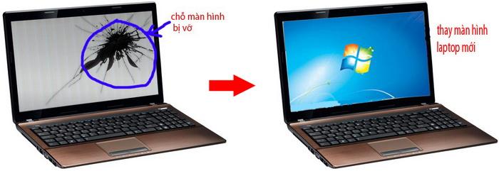 Tại sao bạn muốn bán laptop hỏng màn hình thay vì sửa nó?