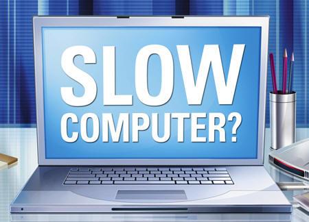 5 nguyên nhân khiến máy tính chậm bất thường