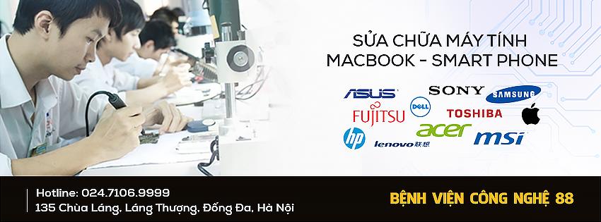 Sửa Macbook ở đâu Hà Nội?