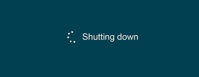 Máy tính tắt chậm phải làm sao?