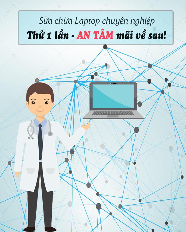 Sửa chữa laptop lấy ngay tin cậy tại Hà Nội