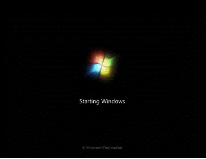 Khắc phục lỗi máy tính bị treo ở màn hình starting windows 7