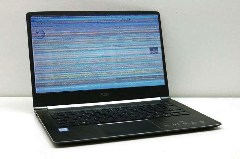 Xử lý tại chỗ lỗi màn hình laptop bị giật