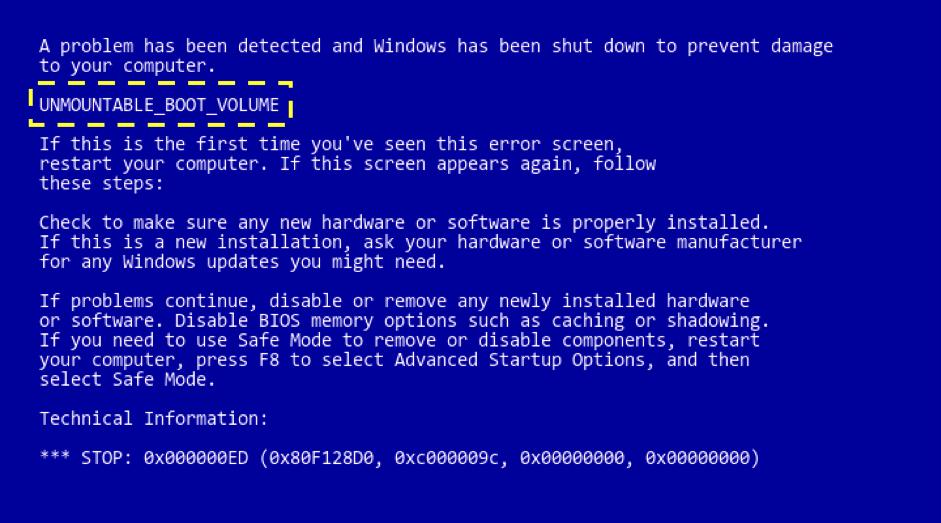 Cách sửa laptop bị lỗi màn hình xanh