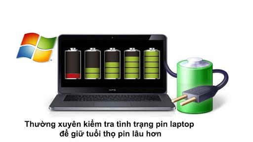 Cách Kiểm Tra Độ Chai Pin Laptop Mà Không Cần Dùng Phần Mềm