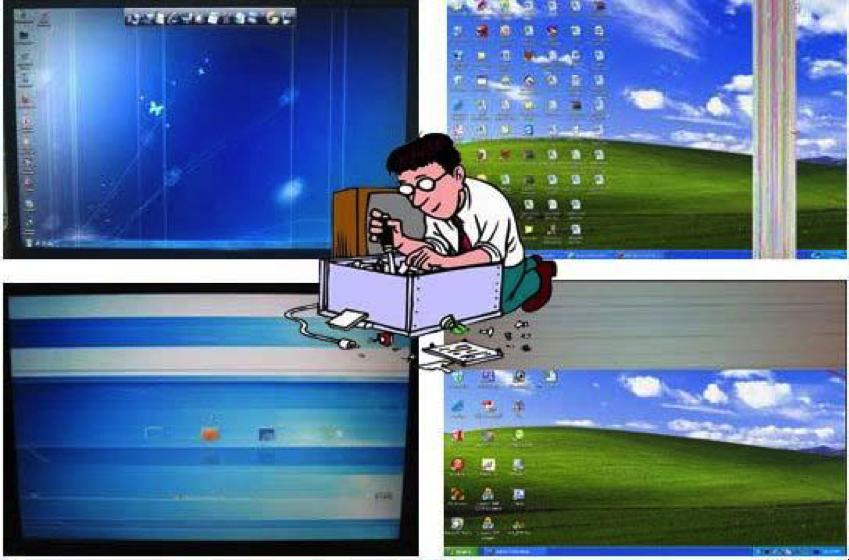 7 trường hợp thường gặp gây ra laptop bị lỗi màn hình