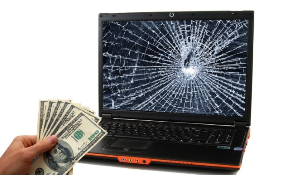 Cẩn thận khi sửa màn hình laptop tại cửa tiệm sửa chữa