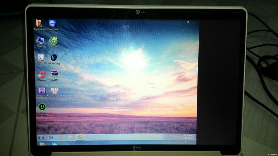 Hướng dẫn sửa màn hình máy tính bị lệch