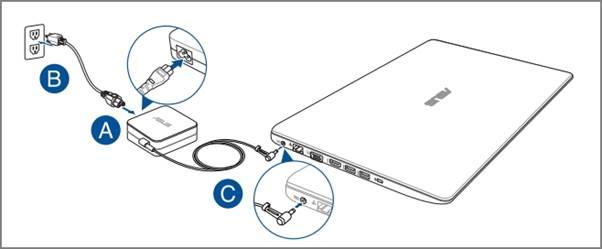 Cách khắc phục - Nếu laptop asus bật không lên nguồn tại nhà