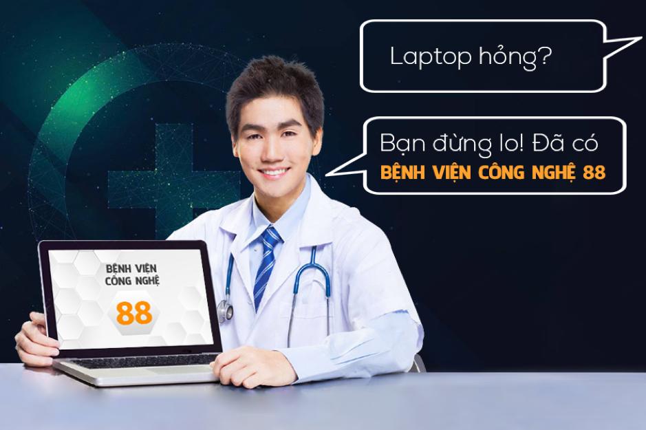 Top 5 địa chỉ sửa chữa laptop TPHCM uy tín
